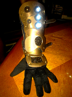 Steampunk Gauntlet by Reighnhell