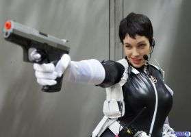 Maria Hill - aim and fire by hiddentalent1