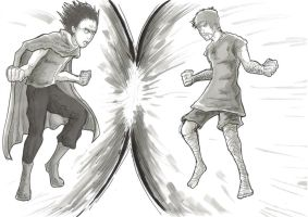 Tetsuo Vs Andrew by JuJu-Madness