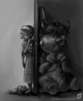 Closet Monster by SamiShahin-Art