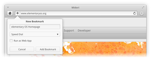Add Bookmark Popover by DanRabbit