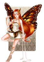 Autumn Fairy by Deih