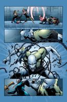 Dynamo 5 issue 25 colour by thatron