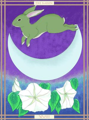 Moon Tarot: The Jade Rabbit