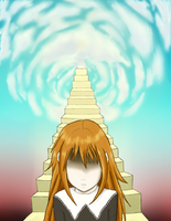Going down from Heaven by Irisel
