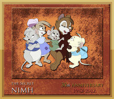 NIMH: 30th Anniversary Tribute #3 by WhiteLionWarrior