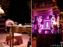 Umbridge's Ministry of Magic Office by MichelleChiu