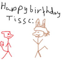 Happy Birthday Tiss by shadow-chameleon
