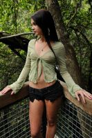 Tara - sheer green 2 by wildplaces