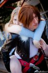 Squall and Rinoa by FallingFeathers