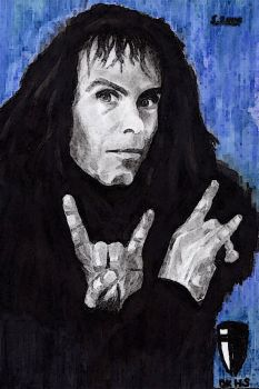 The Great Ronnie James Dio by HexenStar
