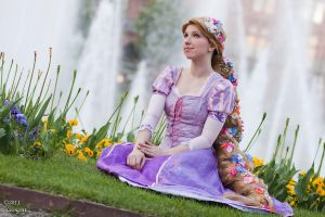Rapunzel - Flowers and Dreams by Rayi-kun