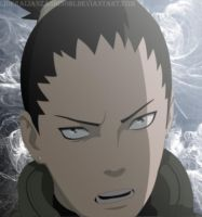 Shikamaru by LiderAlianzaShinobi