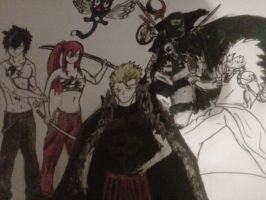 Fairy tail fav character/ Not complete by ChoasisShinigami