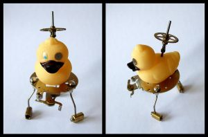 Mechanical Duck by Xenaris