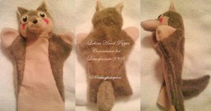 Lakota Hand Puppet by PuddingPlushiePalace
