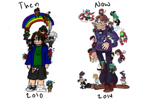 Improvement comparison thingy by PsyDraws