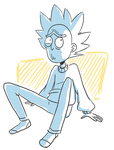 Comfy Rick by ecokitty