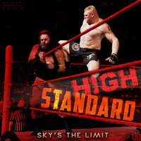 BROCK LESNAR - Sky's The Limit |Half In 2K by CagatayDemir