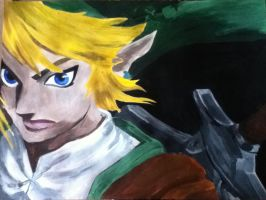 Link from Twilight Princess by Katseyes99
