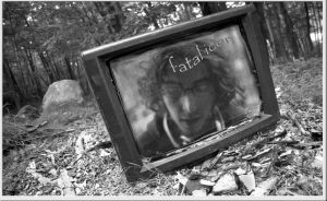 i am in the tv by fatalicon