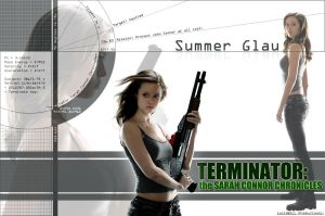 Summer Glau wallpaper by NeuspeedNinja
