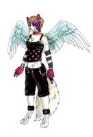 final carma cat anthro ref by Anarchpeace
