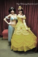 Jasmine and Belle by BellesAngel
