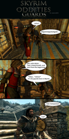Skyrim Oddities: Guards by Janus3003