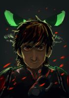HIccup and Toothless by blueisocean