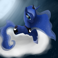 MLP Princess Luna by Mewyk91
