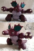 34 nidoking by VictorCustomizer