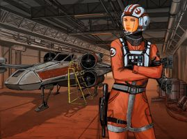 SW Rebel Pilot redesign by kvlticon by BaronNeutron