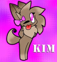 Kim the foxy lil chao by Hooplang