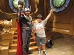 Thor at Disneyland by montey4