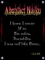 Abstract Haiku by BL8antBand