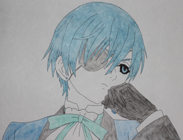 Ciel Phantomhive drawing by Sweetgirl333