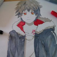 Noragami_Yukine little sketch by SaraMangaka