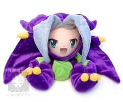 Bahamut Dragon Sephiroth Plush by kaijumama
