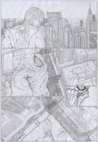 Marvel Portfolio - Spiderman Page 1 by Cyrano17