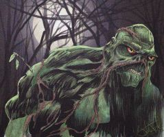 Swamp Thing by JTF3