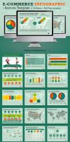 Ecommerce Infographic Keynote Template by kh2838