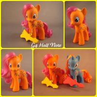 Swap pony - G4 Half Note by hannaliten