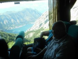 The Old People Who Were Sitting Near Us In The Bus by ArtiFashion