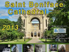 Saint Boniface Cathedral Calendar Cover by Joe-Lynn-Design