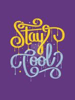 Stay Cool Print by roberlan