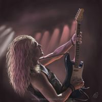 Janick Gers 1 by Windfreak