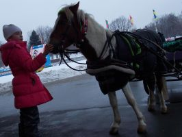 Child. Horses. Moscow. #2 by RedTizer