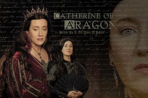 Catherine of Aragon by hnl