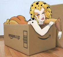 Cheetara in a Box by ScoobyKun